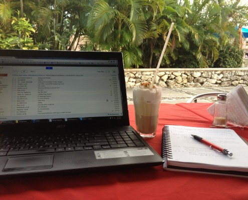 working from mexico